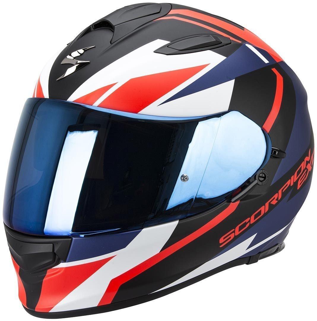 Noir SCORPION Casque de Moto XXL