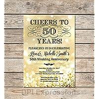 Amazoncom Anniversary Invitations Stationery Handmade Products