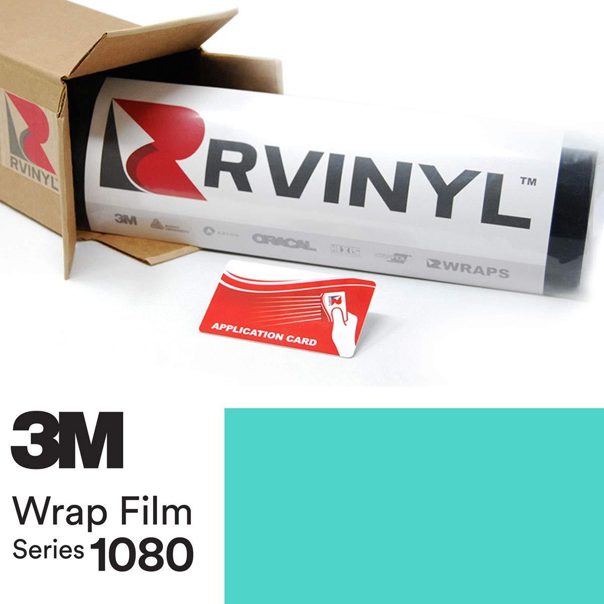 3M 1080 S57 Satin Key WEST 5ft x 1ft W/Application Card Vinyl Vehicle Car Wrap Film Sheet Roll by Rvinyl