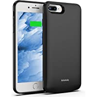 50553c2845 Battery Case for iPhone 8 Plus/7 Plus, 5500mAh Slim Portable Charger Case  Extend