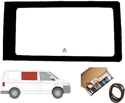 Mano derecha ventana de fijo transparente para Panel lateral OPP. Puerta Corredera Para Volkswagen Transporter T5 (2003 – 2015): Amazon.es: Coche y moto