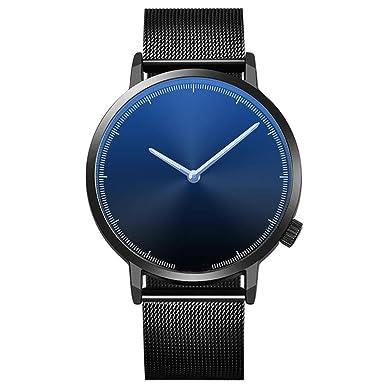Relojes Mujer,Hanomes,Reloj de Pulsera clásico de Acero ...