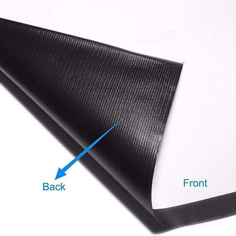 OSB STYLE Pantalla de proyector 60 4: 3 Material de PVC Tela ...