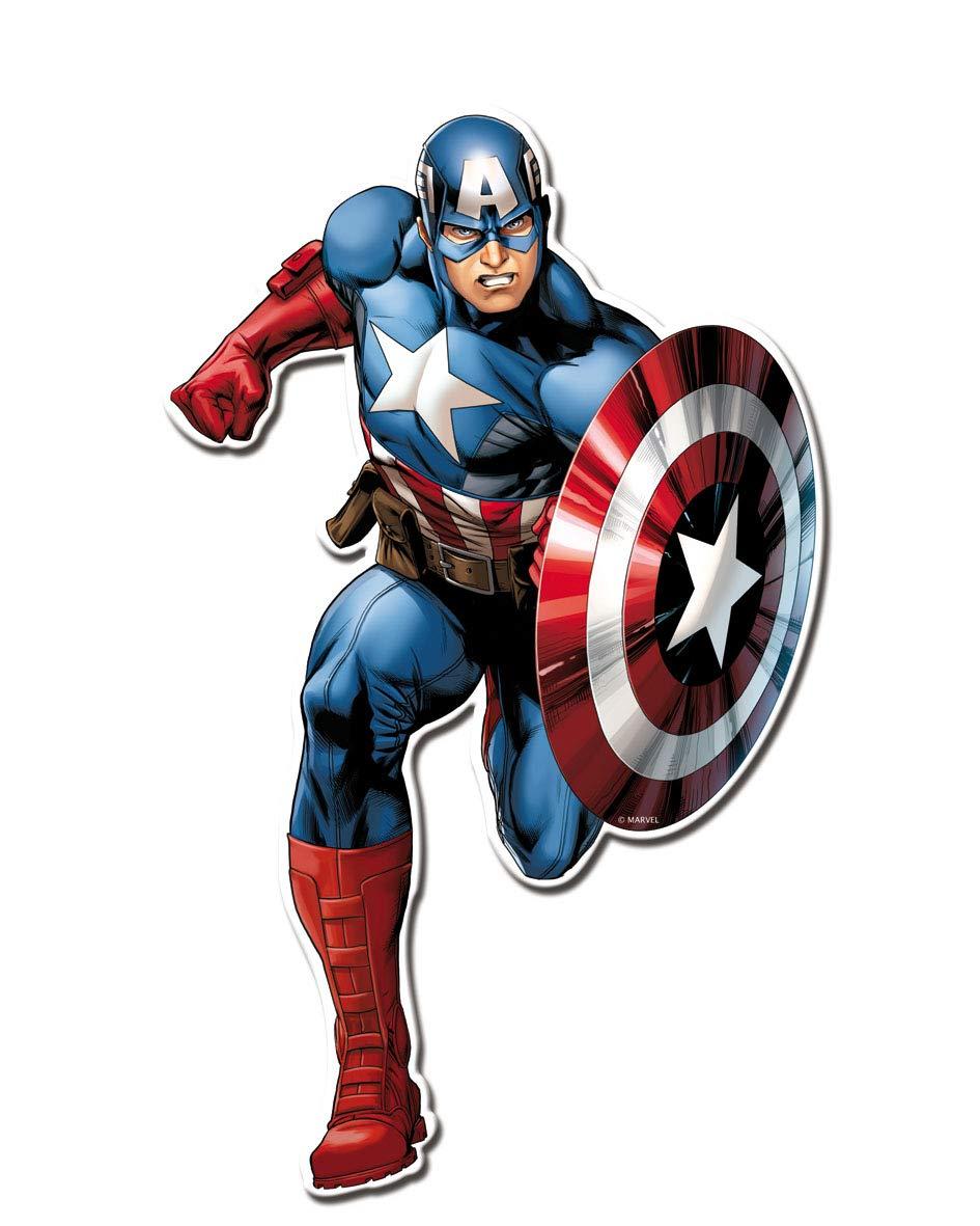 ALMACENESADAN 0891, Pack 4 Siluetas 30 cms Avengers, para ...