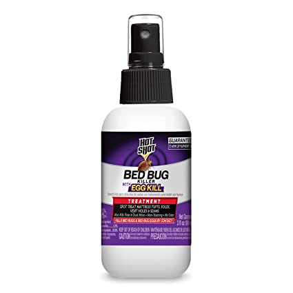 Hot Shot Bed Bug Killer With Egg Kill Ready To Use 3 Ounce 12 Pack