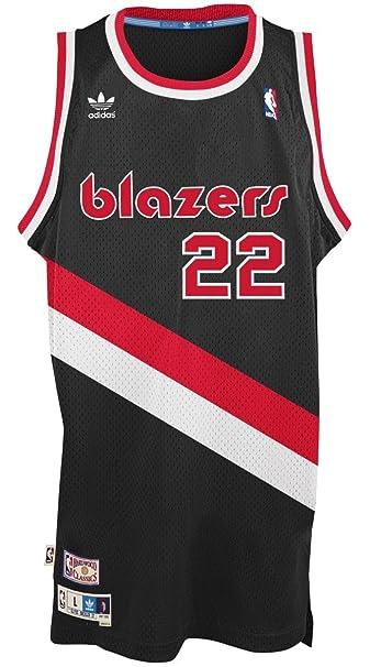 quality design da9c3 0c847 Adidas Men's Portland Trail Blazers NBA Clyde Drexler Swingman Jersey