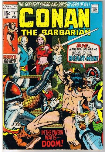 Conan the Barbarian (Marvel Comic #2) December 1970