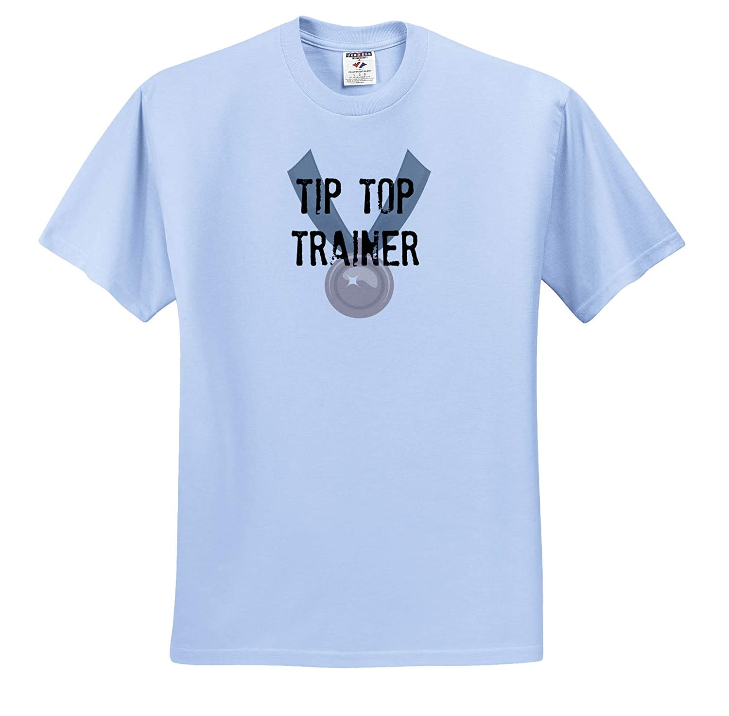 Image of Tip Top Trainer T-Shirts 3dRose Carrie Merchant Quote