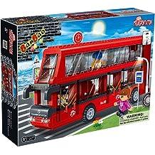 BanBao Double-Decker Bus Play Set