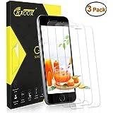 3 Pack Vetro Temperato Compatibile con iPhone 7/ iPhone 8 Protezione Vetro Senza Bolle d'Dria Pellicola Protettiva Facile da Installare Screen Protector Compatibile con iPhone 7/ iPhone 8 Trasparente