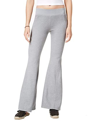Free People Womens Large High Pull-On Flare Pants: Amazon.es ...