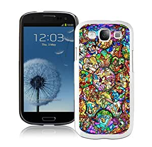 Unique And Lovely Designed Case For Samsung Galaxy S3 With All Character Disney White Phone Case