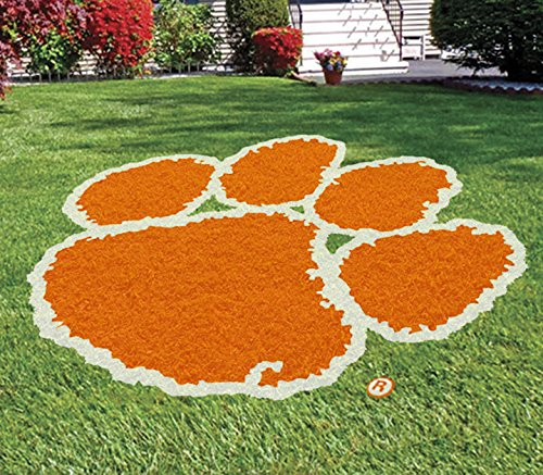 CLEMSON UNIVERSITY LAWN LOGO STENCIL KIT - PAINT THE