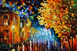 100% Hand Painted Oil Paintings Decor Abstract Modern Painting Corner Home Wall Decoration (20X30 Inch, Wall Arts 3)