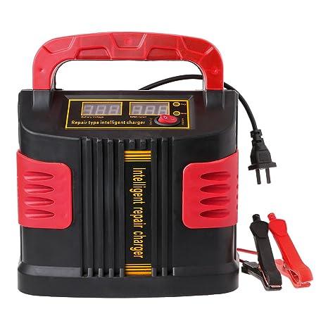 Meatyhjk 350W 14A Auto Plus Ajustar LCD cargador de batería ...