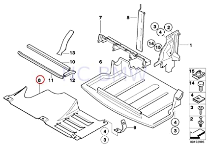 Amazon Com Bmw Genuine Transmission Air Duct Automotive