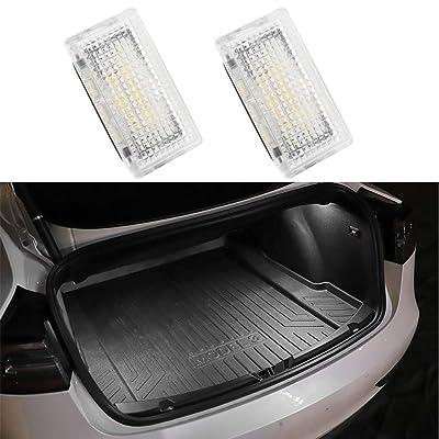 Motrobe Ultra-bright Interior LED LightingCar Lamp Trunk Light Kit for Tesla Model 3/ Model Y/Model X/Model S(2pcs): Automotive