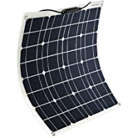 YUANFENGPOWER módulo solar 12V 50W panel solar monocristalino célula solar cargador solar fotovoltaico sistema solar…