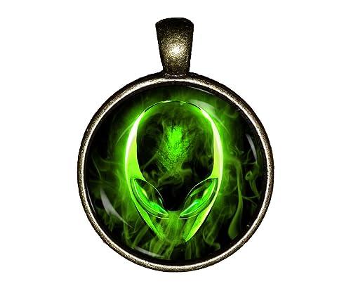 Amazon.com: Alien collar hecho a mano extraterrestre Alien ...