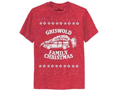 ripple junction national lampoons christmas vacation griswold family christmas youth t shirt x small