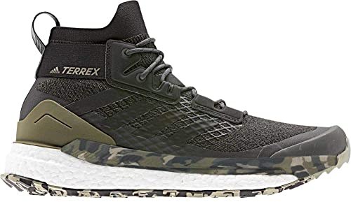 ce406f15c0 adidas outdoor Men's Terrex Free Hiker Raw Khaki/Black/St. Desert Sand 9 D  US