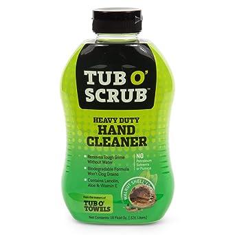 Tub O Towels Bañera o Toallas TS18 bañera o Scrub 18 oz Botella de Limpiador