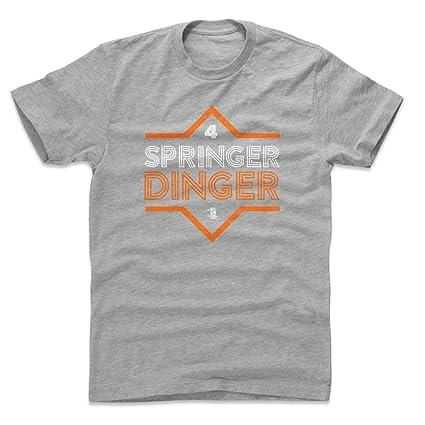 uk availability 8024d 13c4e Amazon.com : 500 LEVEL George Springer Shirt - Houston ...