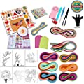 Giraffe 26 in 1 Paper Quilling DIY Kits with 36 Colors Quilling Strips Crafting Paper Board Mould Crimper by Giraffe