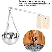 AUNMAS Sauna de Acero Inoxidable Aroma Bowl Taza