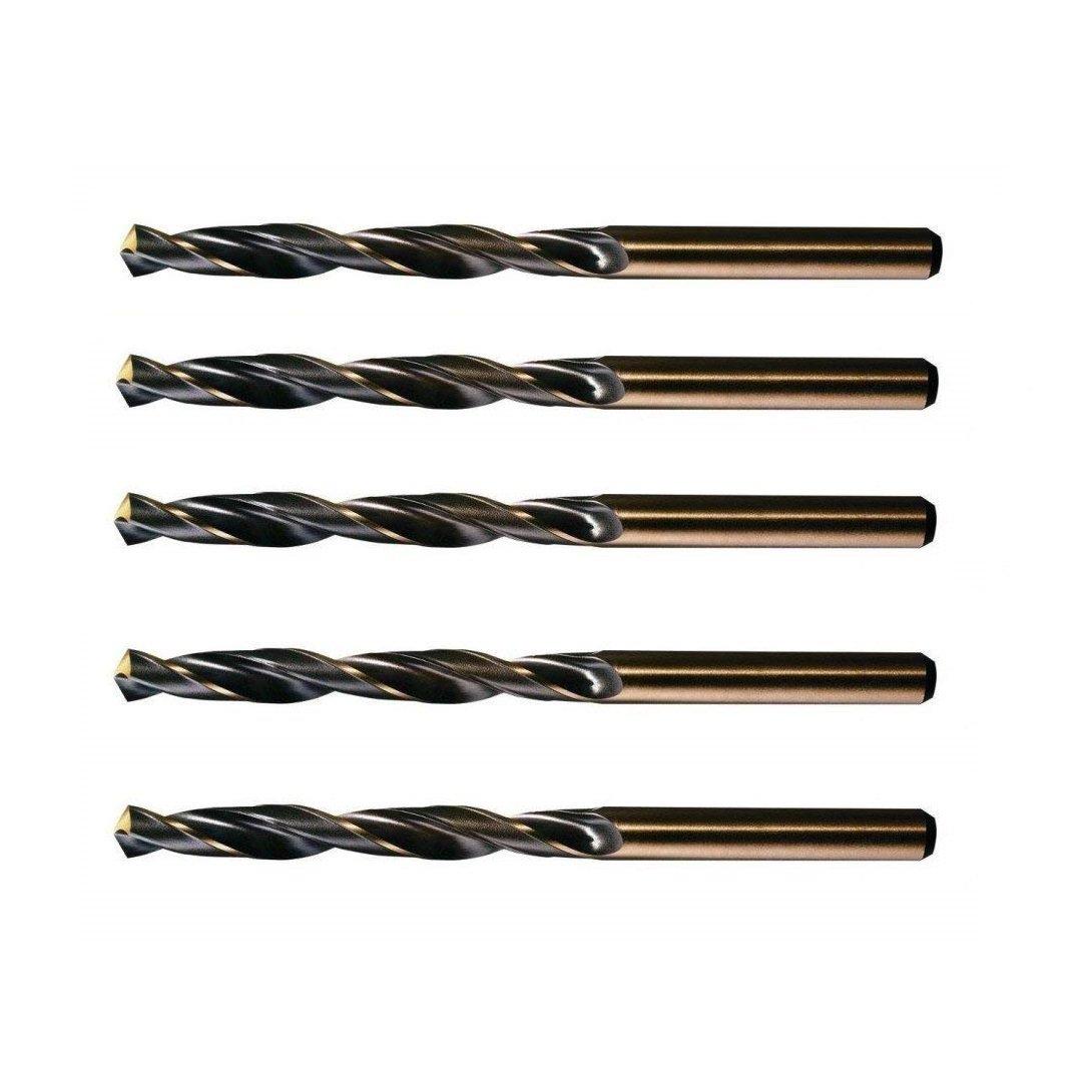 CNC QUALITÄT 5 Stück Spiralbohrer Ø 6, 8 mm - Kernloch Bohrer für M8 - Made in Germany - DIN 338 CNC QUALITÄT