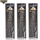 Mohan® Incense Frankincense & Myrrh Scents Pack 250 Sticks (9.2 Inches Tall) – Makers of the World Famous Khush Scent – Premium Pure Charcoal Incense Hand Rolled in the Finest Herbs, Spices, Oils, Honey, and Sandalwood Powder
