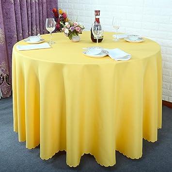 Tissu polyester qualité nappe en différentes tailles rectangulaire ou ronde