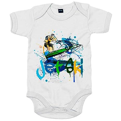 Body bebé Jet Ski ilustración - Blanco, 6-12 meses: Amazon ...