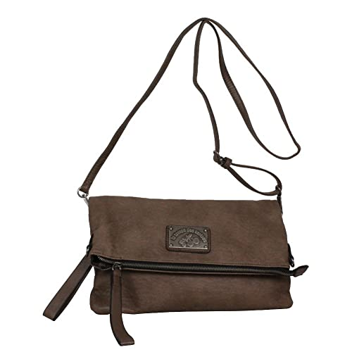 91a2471590 Sac Besace Le Temps des Cerises Bonnie 7 effet cuir usé: Amazon.co.uk:  Shoes & Bags