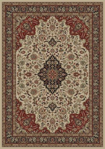 Concord Persian Classics Medallion Kashan Ivory 9'3