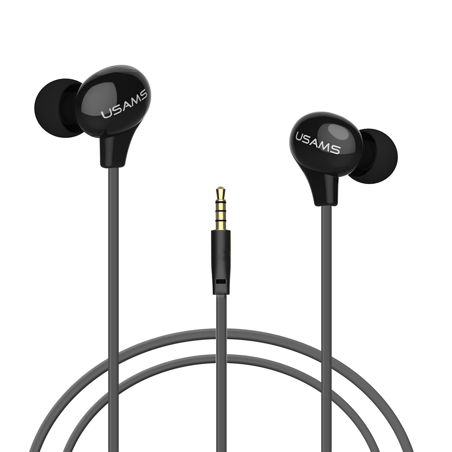 In Ear Earbuds Earphones Dynamic Crystal Clear Bass Ipod Wiring Diagram Sound Headphones With Microphone Ergonomic Comfort Fit Corded Headsets For Iphone Android Ipad