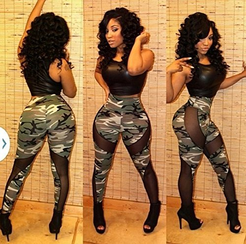 NEW Mesdames noir et camouflage 2pièces pour femme pour femme de Club Wear Vêtements Casual pour Femme Soirée Taille 14–16