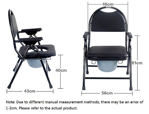 Jl sedia da toilette sgabello da toilette per donne anziane su