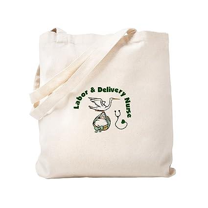3112bdf17f90 Amazon.com: CafePress - Labor & Delivery Nurse - Natural Canvas Tote ...