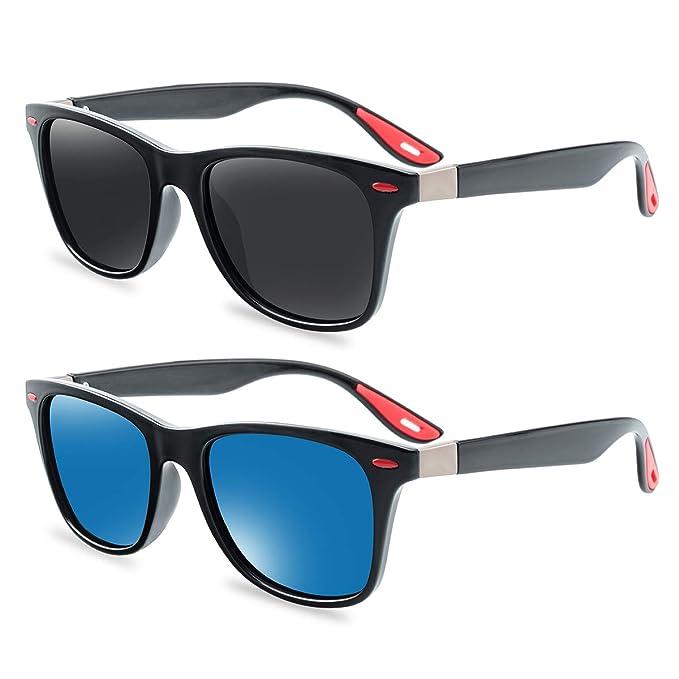 Amazon.com: Aooffiv - Gafas de sol polarizadas clásicas para ...