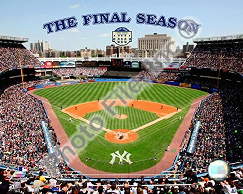 Yankee Stadium 2008 - The Final Season Photo 20 x 16in (Yankee Photograph Stadium 16x20)
