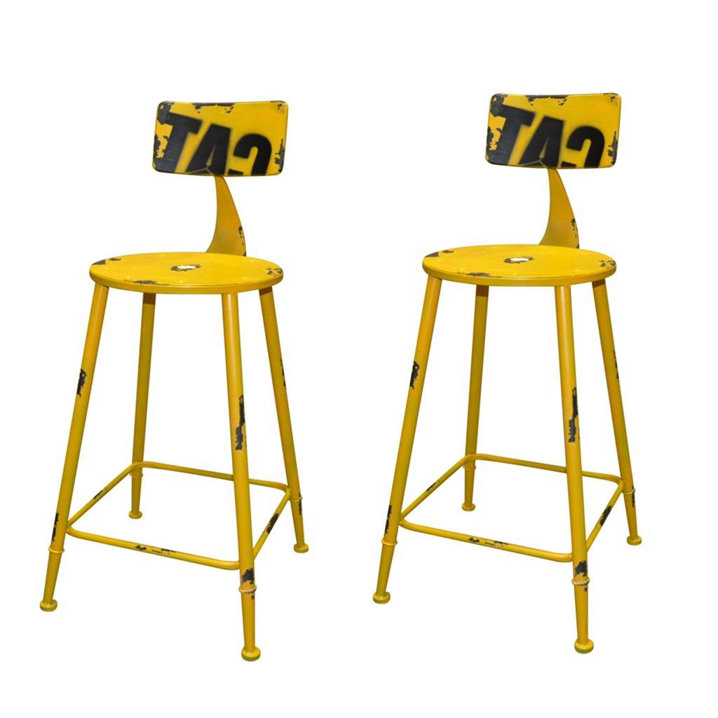 XUEPING バースツール/チェアカウンターチェアロータリーオフィスチェアキッチンレストランバースツール/チェアハイチェアハイチェア5色ヴィンテージチェア (色 : E, サイズ さいず : 二) B07D3TTGGV 二|E E 二