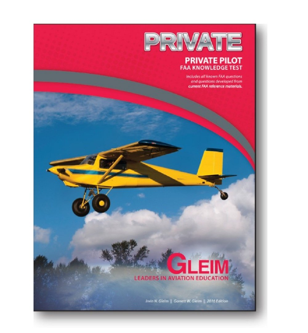 0607abc62ce Gleim Private Pilot FAA Knowledge Test Book - 2016  Irvin N. Gleim ...