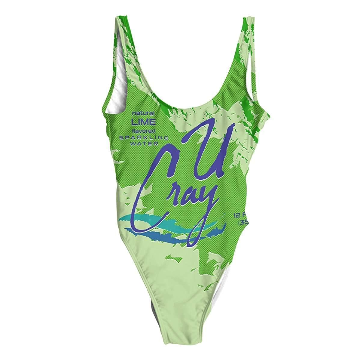 Beloved Shirts Lime Sparkling Water One Piece Swimsuit