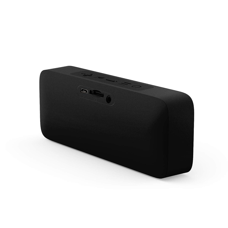 Energy Sistem Music Box 2 microSD MP3 Player, FM Radio, Bluetooth 5.0, TWS, 6 W, Audio-in, Hands-Free Onyx