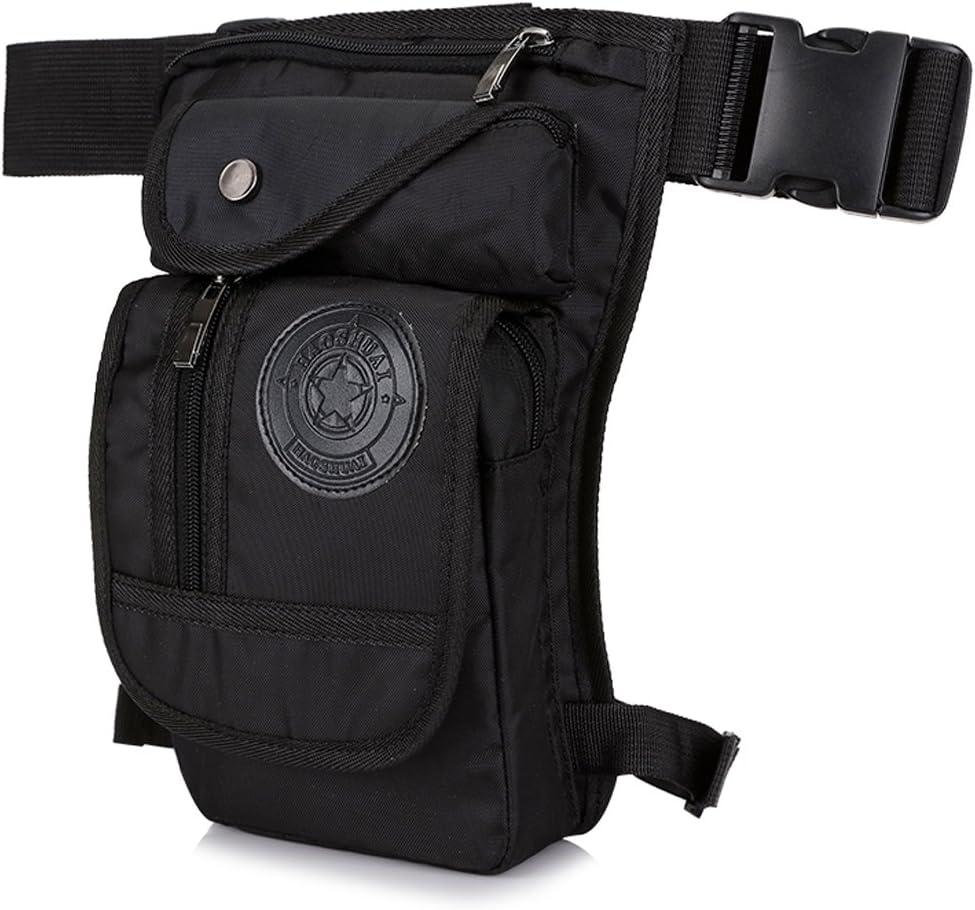 Xieben Tactical Militar Cintura Al Aire Libre Paquete Fanny Bolsa De Pierna para Hombres Mujeres Impermeable Nylon Multiuso Motocicleta Bicicleta Muslo Drop Belt Bum Bolsa