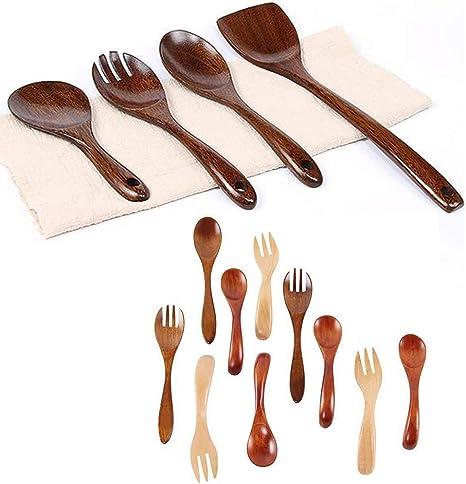 DUDDP juego de utensilios Set de cubiertos Eco-Friendly ...