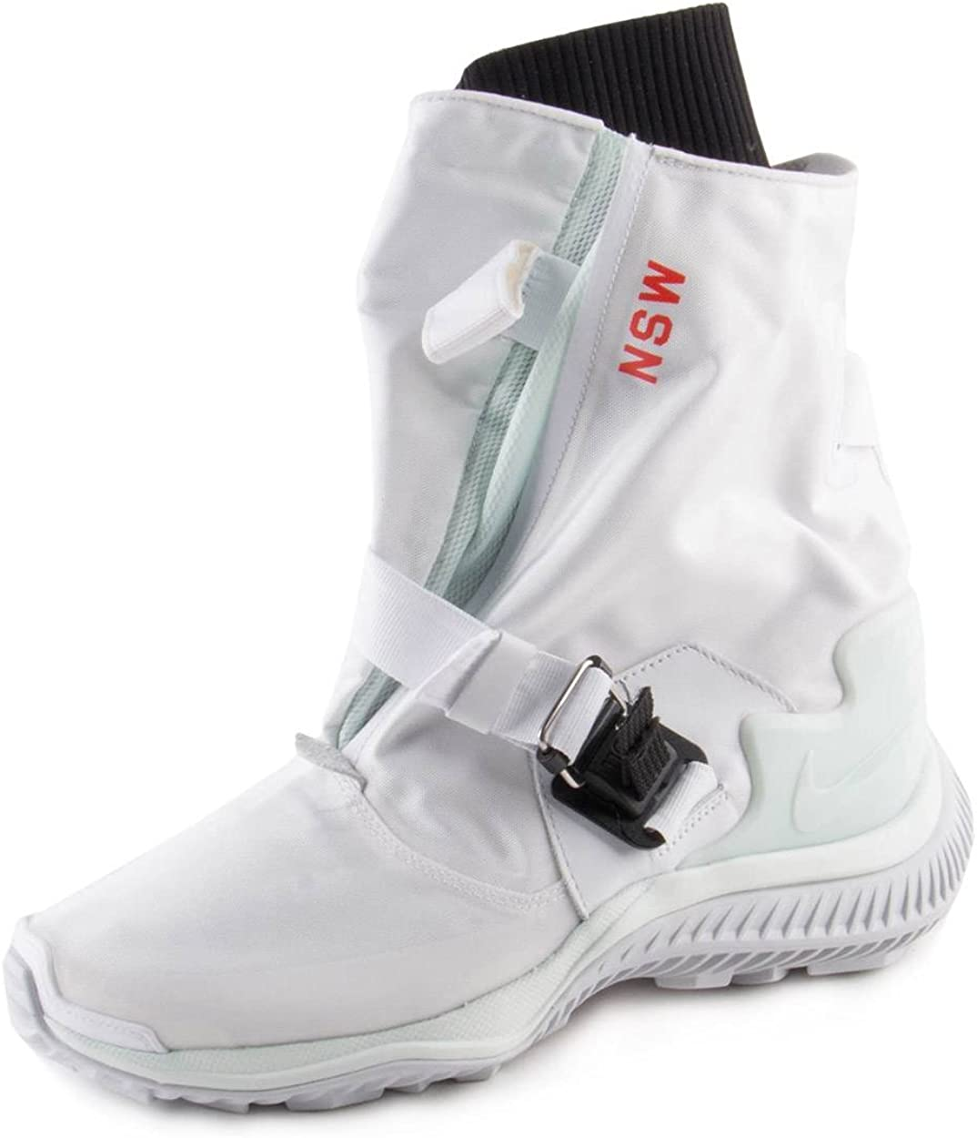 Borrar código Escrupuloso  Amazon.com   Nike Womens WMNS NSW Gaiter Boot White/Barley Green Nylon Size  5   Boots