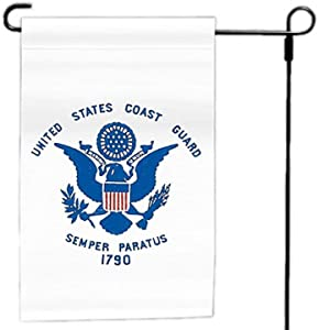 "Valley Forge Flag Made in America 12"" x 18"" Nylon U.S. Coast Guard Garden Flag"