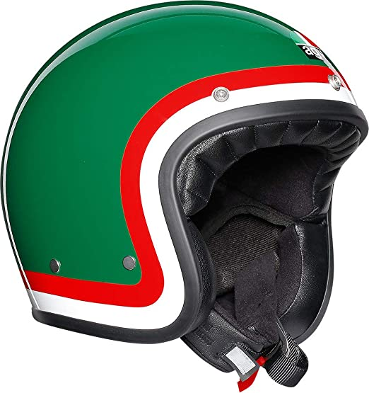 Amazon.es: AGV Legends X70 Pasolini Cara Descubierta Motocicleta Casco Tamano L